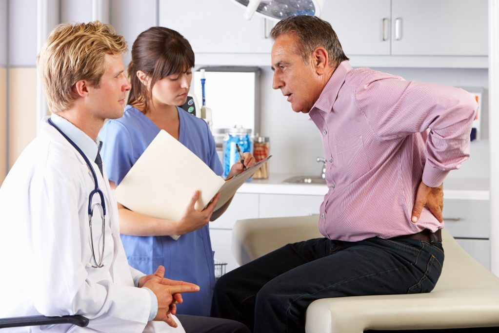 Happy Doctor's Office billing patients for unnecessary treatment.